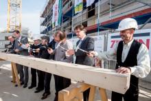 STADT UND LAND feiert Richtfest für rund 400 Mietwohnungen