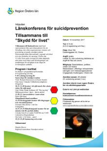 Inbjudan till konferensen Skydd för livet