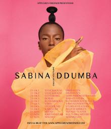 Exklusiv höstturné för Sabina Ddumba