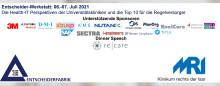 06.-07.07.2021: Die Health-IT Perspektiven der Universitätskliniken und die Top 10 für die Regelversorger