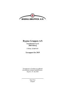 Bygma Gruppen A/S, årsregnskab 2019