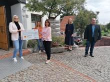 E.ON-Mitarbeiter unterstützen Hospizverein Deggendorf e.V.