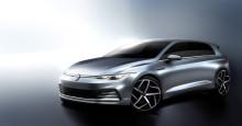 Snart världspremiär för helt nya Volkswagen Golf