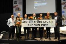 Sigtuna kommun årets nyföretagarkommun 2012