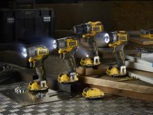 DEWALT lancerer ny serie kompakt  akku-værktøj