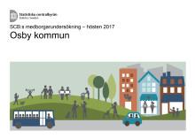 Medborgarundersökningen 2017 Osby kommun rapport