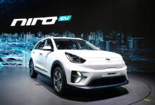 Kia Niro Electric med attraktiv SUV-design og god rekkevidde.