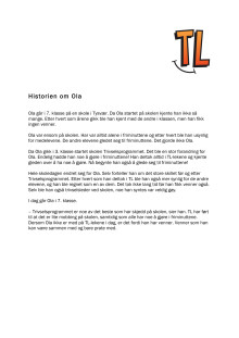 Historien om Ola