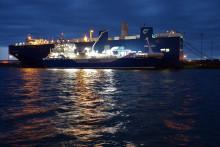 Første skib-til-skib bunkring af LNG-brændstof i Malmö