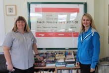Surrey station book-swap boosts Beds and Sussex charities