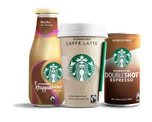 Samarbetet med Starbucks firar tioårsjubileum