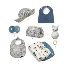 """Shop the look: Dreaming of """"Dots of Fauna"""" and """"Tender Blue"""" ?"""