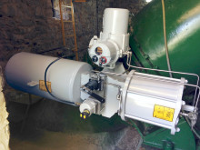 Rotork electro-hydraulic actuator successfully installed at Spanish mountain range power plant