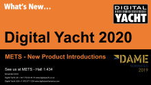 Digital Yacht at METS with DAME nomination and new products