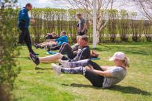 Gemensam träning på Mercatus