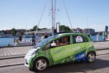 Mitsubishi gewinnt nordeuropäische Elektro-Rallye