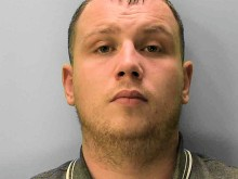 Man jailed after violent Three Oaks burglary - video shows the break-in