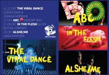 Virtuell dans med Daae/Nordahl, Memory Wax, Butoh-föreställning och Linda Hayford!