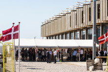 Byggeaffald bliver til 20 nye rækkehuse i Ørestad Syd