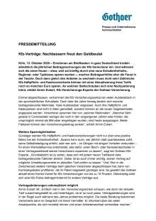 Kfz-Verträge: Nachbessern freut den Geldbeutel