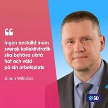 Sverigedemokraterna vill ha svar om hot och våld vid biljettkontroller