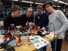 Jugendliche aus Holzminden beim Energy Camp von Westfalen Weser Energie