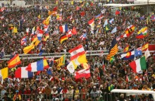 Påven väntas samla en miljon ungdomar i Krakow