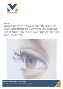 Menons rapport, 6. mai 2020: Vurdering av samfunnsnytten ved telemedisinsk avstandsoppfølging av øyesykdom