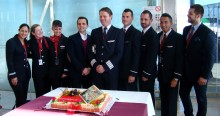 Norwegians bas i Barcelona har nu öppnat