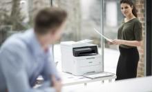 Les nouvelles imprimantes couleurs de Brother sont plus silencieuses, plus rapides et plus connectées