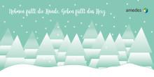 amedes wünscht frohe Weihnachten und einen guten Rutsch!