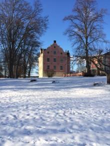 Julmarknad på Skånelaholms slott med spökvisningar