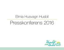 Presentation, Elmia Husvagn Husbil presskonferens