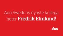 Aon Sweden rekryterar Fredrik Elmlund!