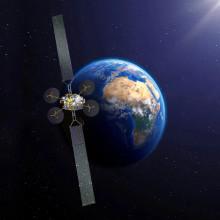 Satelita KONNECT gotowy na transport do miejsce wyniesienia