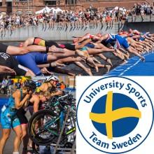 Sex svenska studenter till Student-VM i triathlon i Kalmar