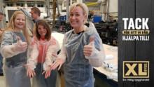 XL-BYGG hjälper Volvo att tillverka skyddsförkläden till hemsjukvården