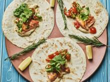 Sjømatretter som gir deg feriefølelsen: Sør-Afrika – grillet laksekebab med hummus