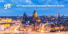 GTT opgraderer centrale ruter i europæiske netværk for at imødekomme voksende efterspørgsel