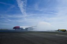 Norwegian med historisk Dreamliner-landing i København