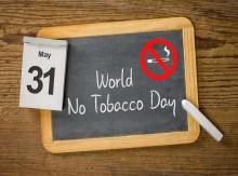 Tänään 31.5. on Maailman tupakaton päivä