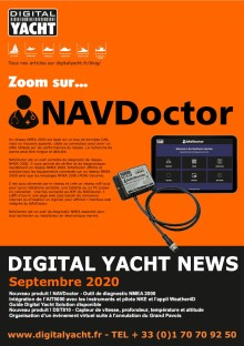 Digital Yacht Newslettter - Septembre 2020