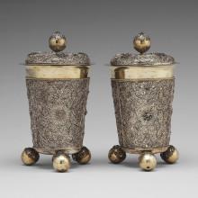 Nationalmuseum receives gift of filigree beakers by Rudolf Wittkopf