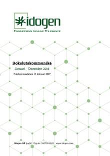 Bokslutskommuniké Januari - December 2016