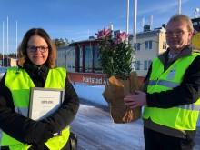 Insatser för fossilfritt flygande får Karlstads kommuns klimatpris 2020