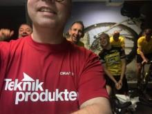 Erik cyklar för att utrota barncancer!
