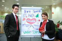 Tag des Ehrenamtes: Santander spendet knapp 16 000 Euro für soziale Einrichtungen