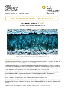 Sony World Photography Awards 2020 - National Awards 2020 - Annunciato il vincitore per l'Italia