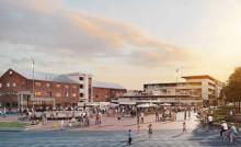 Riksbyggen får markanvisning i bostadsområdet Godisfabriken i Gävle