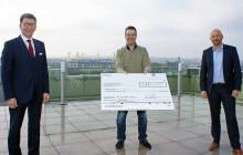 10.000 Euro für Kinderlachen e.V. - eine Freude für die Kleinsten und Schwächsten